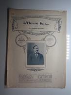 PARTITION L'HEURE FUIT... BOSTON GUERRA   23,5  X 31 Cm Env - Musique & Instruments
