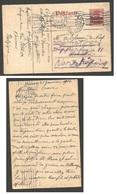 BELGIUM. 1916 (1 Feb). Anttwerpen - Sweden, Stockholm Fwded. German Occupation WW I. 10c Ovptd Germania Type Stat Card C - Belgio