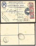 SOUTH AFRICA. 1927 (2 Sept). Buitensindel GF - Gold Coast, Accra, West Africa (12 Oct). 40 Days Transit Dest. 4d Blue Re - Non Classés