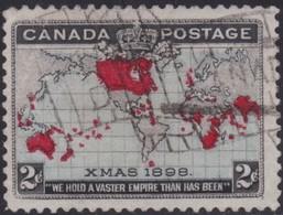 Canada   .   SG  .    166    .      O   .   Cancelled      .   /   .    Gebruikt - 1903-1908 Regering Van Edward VII