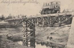 Germany - Munchen - Eisenbahnbataillon - Steam Train Engine - Kriegsbrucke - War Bridge - Treni
