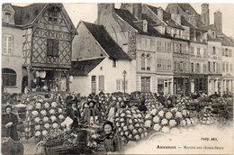 AUXONNE - Marché Aux Choux Fleurs   (113513) - Auxonne