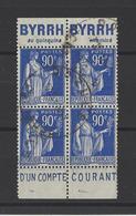 FRANCE . YT   N° 368a  Obl  1937 (voir Détail) - Usados