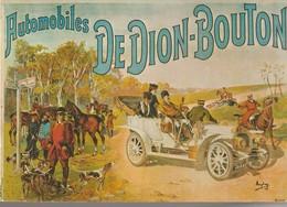 C.P. - AUTOMOBILES DE DION BOUTON - PUBLICITÉ - VA 3 - - PKW