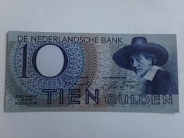 Billete Holanda. 10 Gulden. 1943. Amsterdam. II Guerra Mundial. Réplica. Sin Circular - [2] 1815-… : Kingdom Of The Netherlands