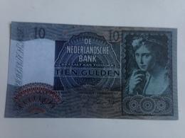 Billete Holanda. 10 Gulden. 1941. Amsterdam. II Guerra Mundial. Réplica. Sin Circular - [2] 1815-… : Koninkrijk Der Verenigde Nederlanden