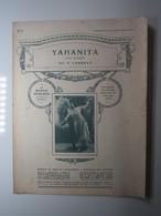 PARTITION YAHANITA TANGO ARGENTINO LAMBRAY  23,5  X 31 Cm Env - Musique & Instruments