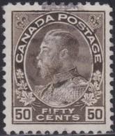 Canada   .   SG  .    214    .      O   .   Cancelled      .   /   .    Gebruikt - 1911-1935 Regering Van George V