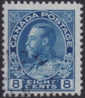 Canada   .   SG  .    252       .      O   .   Cancelled      .   /   .    Gebruikt - 1911-1935 Regering Van George V