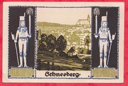 Allemagne 1 Notgeld De 50 Pfenning Stadt Schneeberg Dans L 'état N °3706 - [ 3] 1918-1933 : République De Weimar