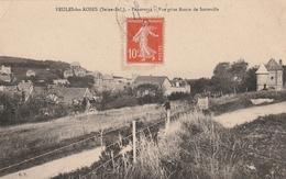 76 Veules Les Roses. Panorama. Vue Prise Route De Sotteville - Veules Les Roses