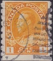 Canada   .   SG  .    256   Die I      .      O   .   Cancelled      .   /   .    Gebruikt - 1911-1935 Regering Van George V
