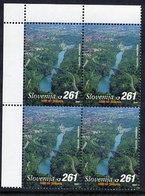 SLOVENIA 2001 Millenary Of Solkan Block Of 4 MNH / **. Michel 349 - Slowenien