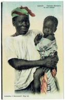 Sénégal. Dakar. Femme Bambara Et Son Enfant. - Sénégal