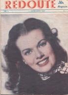 V1 - REDOUTE Erotik Magazin 1947, Nr.6, Fehlende Seiten, 12 Vorhandene Seiten, Gebrauchsspuren - Bücher, Zeitschriften, Comics