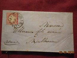 Lettre De 1873 D'Allemagne à Destination De Mulhouse - Germany