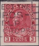 Canada   .   SG  .    261         .      O   .   Cancelled      .   /   .    Gebruikt - 1911-1935 Reign Of George V