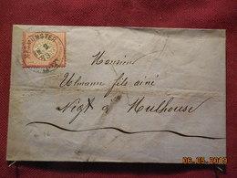 Lettre De 1873 D'Allemagne à Destination De Mulhouse - Allemagne