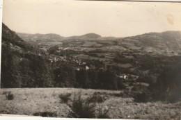 MO 21- (31) SENGOUAGNET - LE VILLAGE ET VUE SUR LA PLAINE - CARTE PHOTO LANGUEDOC , TOULOUSE - 2 SCANS - Autres Communes