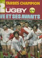 Miroir Du Rugby 142 Juin 1973 Tarbes Champion En Battant Dax En Finale - Sport