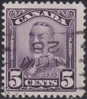Canada      .       SG       .    279         .      O   .   Cancelled      .   /   .    Gebruikt - 1911-1935 Regering Van George V