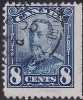 Canada      .       SG       .    280         .      O   .   Cancelled      .   /   .    Gebruikt - 1911-1935 Regering Van George V