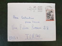 (37407) STORIA POSTALE ITALIA 1968 - 6. 1946-.. Repubblica