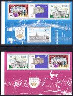 Ireland 1991 Dublin European City Of Culture 2 Booklet Panes ** Mnh (42648B) Promotion - Boekjes