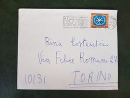 (37409) STORIA POSTALE ITALIA 1968 - 1961-70: Marcophilia