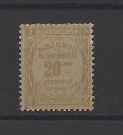 FRANCE . YT Timbres Taxe N° 45a  Neuf **  1908 - Taxes
