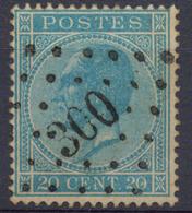 Nr; 18  : Puers - 1865-1866 Profile Left