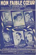 Mon Faible Cœur - Line Renaud (p: Georges Tabet - M: Victor Young), 1949 - Non Classés
