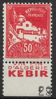ALGERIE PUBLICITIMBRES N° 79Ab BYRRH VIN FIN KEBIR NEUF * GOMME TRACE CHARNIERE - Algérie (1924-1962)