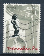 France - Capitales Européennes Bruxelles YT 4075 Obl. Ondulations - France