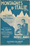 Montagnes D'Italie - Patrice Et Mario (p: Henri Contet - M: Tony Murena), 1949 - Música & Instrumentos