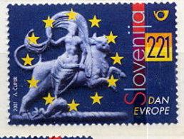 SLOVENIA 2001 Europe Day MNH / **. Michel 348 - Eslovenia