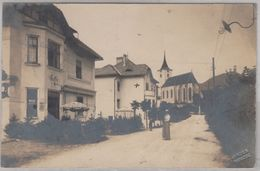 Österreich - Türnitz, Strassenansicht, Sw-Fotokarte, Gelaufen  1920 - Österreich