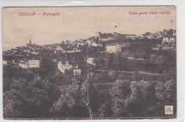Portugal -Covilhã - Vista Geral Circulou Em 13 -6 -1922 (tem Um Vinco Ao Meio) - Portugal