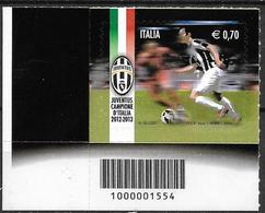 2013 Italien Mi. 3648 **MNH Gewinn Der Italienischen Fußballmeisterschaft Durch Juventus Turin. - 6. 1946-.. Repubblica