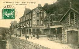 ST BRIEUC LEGUE   = Hotel De La Plage ..;   675 - Saint-Brieuc