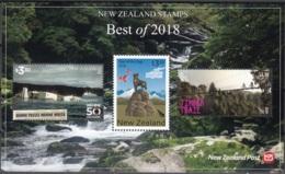 New Zealand 2018 Bloc Feuillet Meilleurs Timbres De L'année Neuf ** - Blocs-feuillets