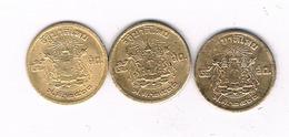 2 X 5 SATANG 1950 THAILAND /3932/ - Thailand