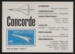 Cameroun - 1976 - Bloc Feuillet BF N°Yv. 9 - Concorde - Neuf Luxe ** / MNH / Postfrisch - Concorde