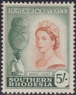Southern Rhodesia    .   SG  .   89      .     *    .     Mint-hinged      .   /   .    Ongebruikt - Rhodésie Du Sud (...-1964)