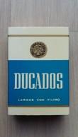 Zündholzschachtel Mit Zigaretten-Werbung (DUCADOS) - Zündholzschachteln