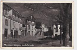 Portugal -Alpedrinha -largo De Santo Antonio-circulou Em 9-8--1955 - Portugal