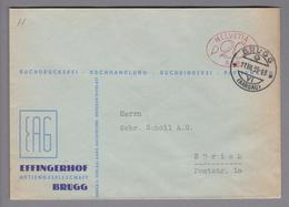 Motiv Druck 1933-07-11 Brugg Firmenfreistempel #559 Effingerhof AG - Usines & Industries