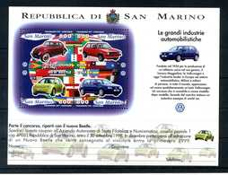 1997 SAN MARINO BF47 MNH ** - Blocchi & Foglietti