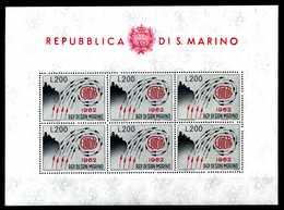 1962 SAN MARINO BF24 MNH ** - Blocchi & Foglietti
