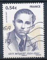 France - Guy Môquet  YT 4107 Obl. Ondulations - Oblitérés